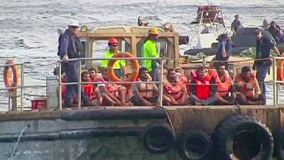 Sri Lanka asylum seekers arrive in Australia