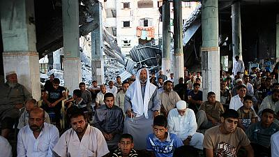 Gaza calm as Palestinians mourn and prepare for Eid