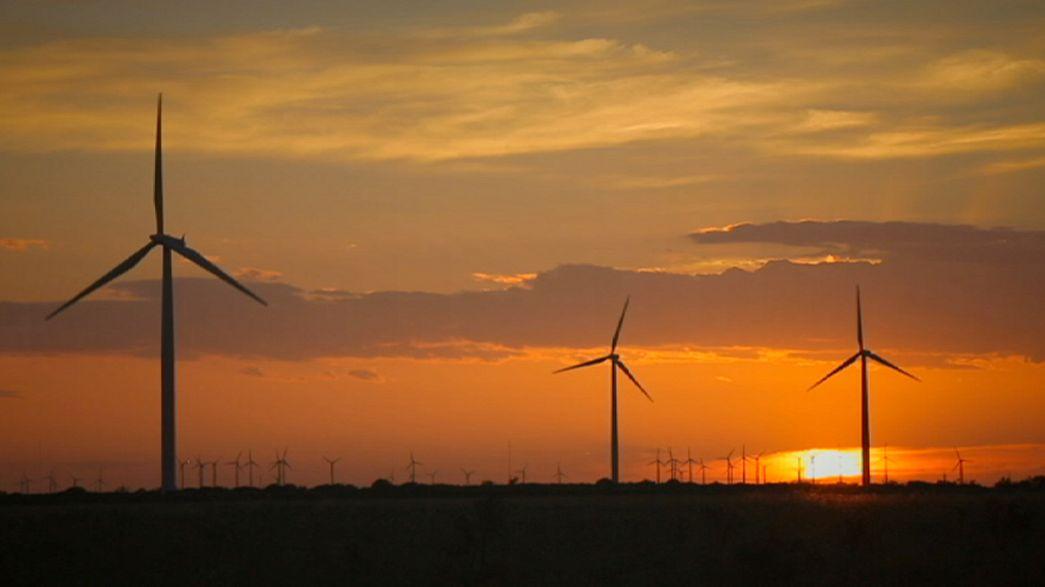 Вітер і сонце дбають про домівки Техасу