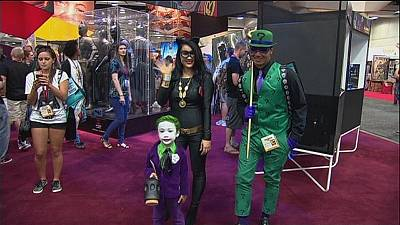 Comic-Con celebrates Batman's birthday