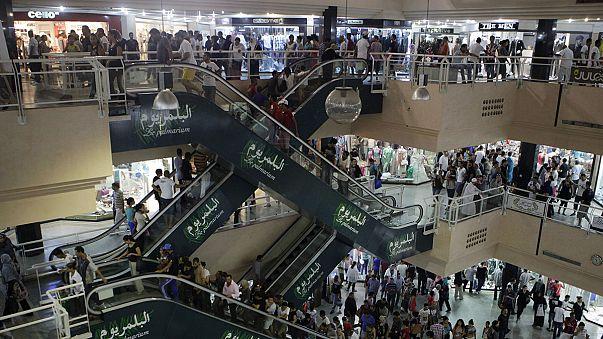 Az üzlet a Ramadán mögött