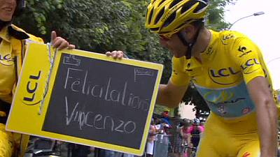 Tour de France: Nibali strong from start to finish