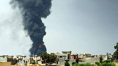 Libya fuel depot fire rages out of control