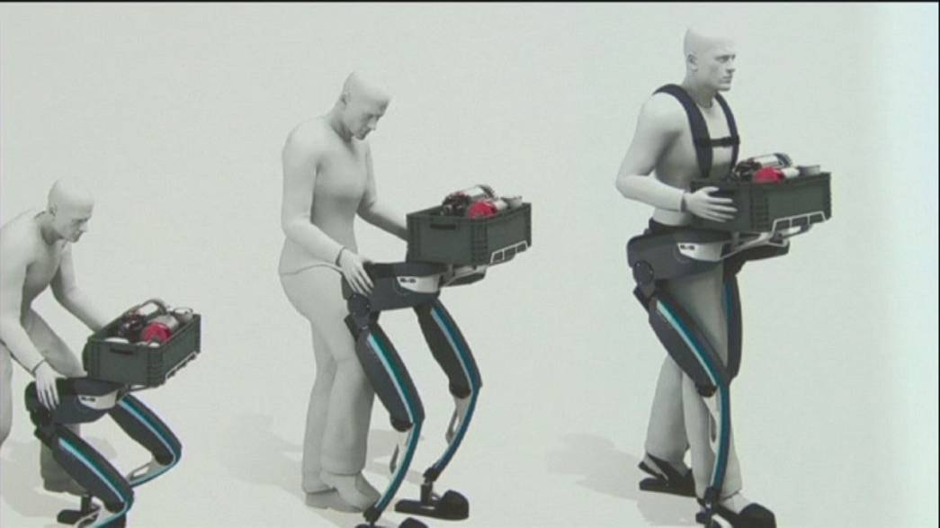 Exoskeleton gives super strength, new facial recognition software beats the human eye