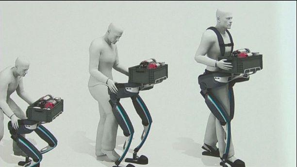 Exoesqueleto robotizado ajuda nas tarefas pesadas