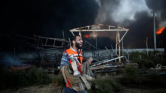 Blackout: Gaza's only power plant destroyed by Israeli tank attack