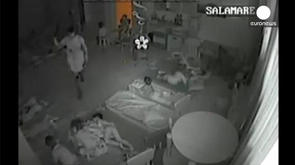 Caught on camera - children drugged and beaten in Romanian kindergarten