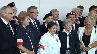 Germany and Poland commemorate Warsaw Uprising