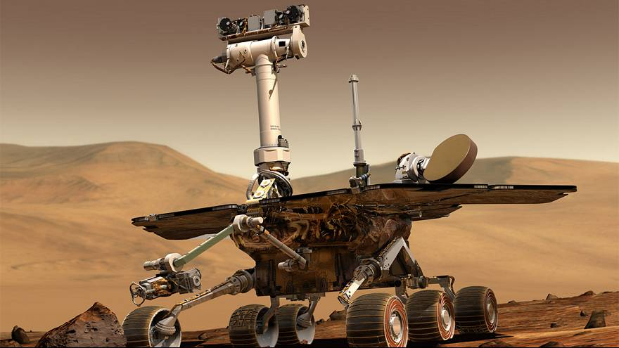 Opportunity roves on Mars, sets a record for another world