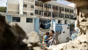 "UN condemns ""violation"" of law by Israel after deadly attack on UN school"