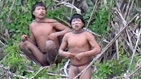 First contact with isolated Brazilian tribe