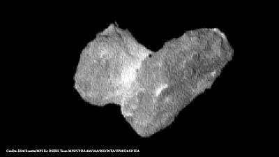 Rosetta the comet hunter arrives at its target