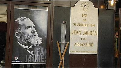 100 years on, France remembers Socialist Jaures