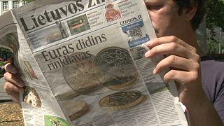 La Lituanie espère et craint son passage à l'euro