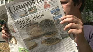 Литва запасается евромонетами