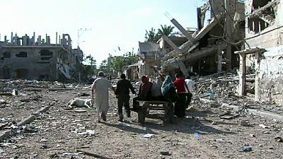 Ceasefire brought a few hours of hope for Gaza residents
