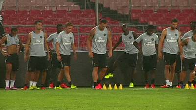 PSG and Guingcamp prepare for Champions' Trophy