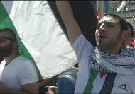 Protesters angry about ongoing Gaza violence