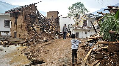 At least 380 killed in China earthquake as rescue efforts continue