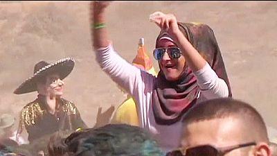 Jordan enjoys first ever colour festival – nocomment