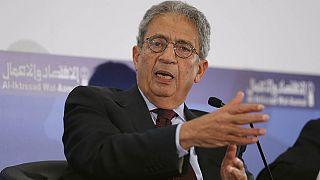 عمرو موسى: لا للدويلات الطائفية على حدود مصر الغربية