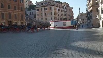 Rome gives pedestrians right of way at more of its monuments