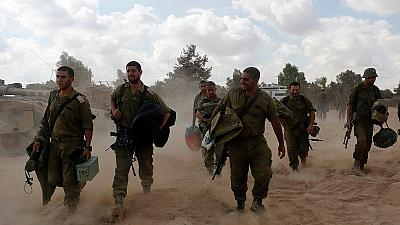 Israel announces withdrawal of troops from Gaza Strip