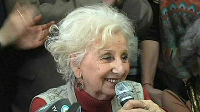 Argentinian grandmother to be reunited with grandson 36 years after he was stolen by military junta
