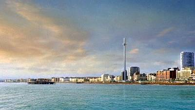 World's highest 'vertical cable car' planned for UK beach