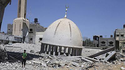 Gaza 'a disaster zone', says President Mahmoud Abbas