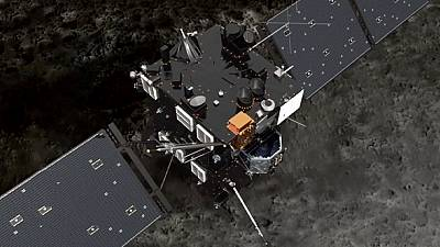 """""""Caçadores de Cometas: Rosetta traça o mapa do 67P"""
