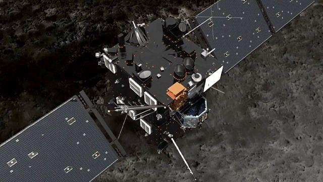 """Rosetta e la sua missione.  Dietro le quinte con i """"cacciatori di comete"""""""