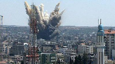 Gaza under fire as Israel-Hamas truce expires