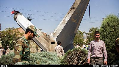 Several people survive Tehran plane crash – reports