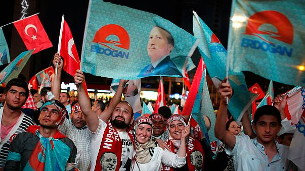 As it happened: Erdogan wins Turkey presidential election