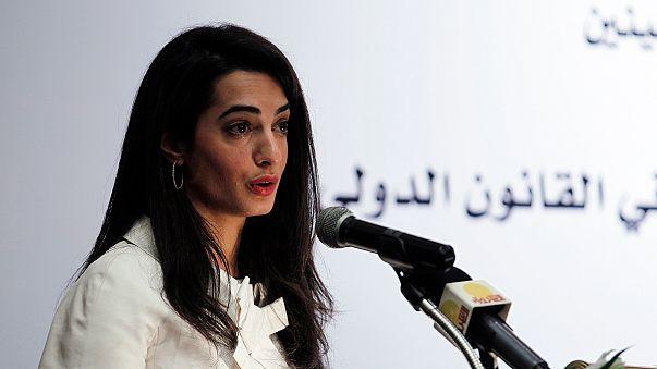 امل علم الدين خطيبة كلوني عضو لجنة التحقيق في الانتهاكات في غزة