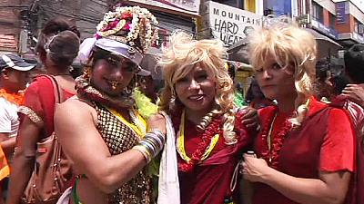 LGBT supporters march in Nepal for same-sex marriage – nocomment