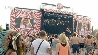 Rock it! Sziget Festival opens in Budapest