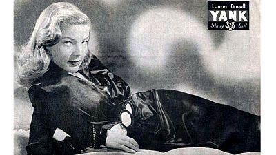 Hommage à Lauren Bacall : plus glamour, on ne trouve pas !