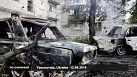 Tres muertos en Ucrania, tras el bombardeo de una ciudad controlada por los rebeldes