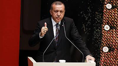 Erdogan urges AK Party to enhance his presidential powers