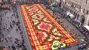 Brussels flower carpet marks Turkish immigration to Belgium