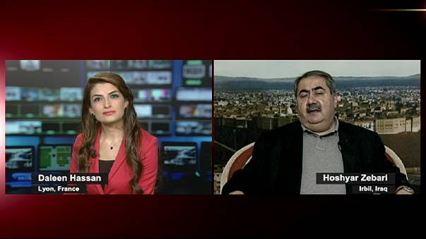 """هوشيار زيباري ليورونيز:""""الحرب ضد داعش هي حرب مفتوحة و كردستان سيتعاون مع حكومة العبادي"""""""