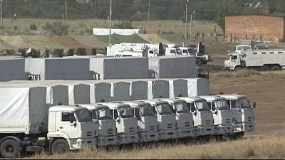 Red Cross says no security guarantees in place yet for Russian aid convoy