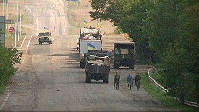 Ukraine claims breakthrough in rebel stronghold of Luhansk