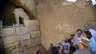 Τακτικές ενημέρωσεις του υπ. Πολιτισμού για τον τύμβο της Αμφίπολης