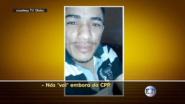 ثلاثة عشر سجينا برازيليا يفرون من زنزانتهم ويصورون عملية هروبهم