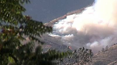 California wildfire season continues threatening more homes