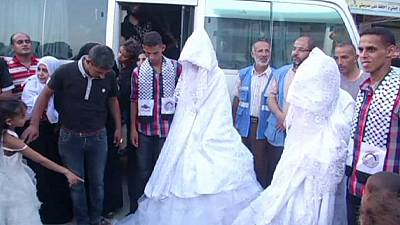 UN helps couples wed in war battered Gaza – nocomment
