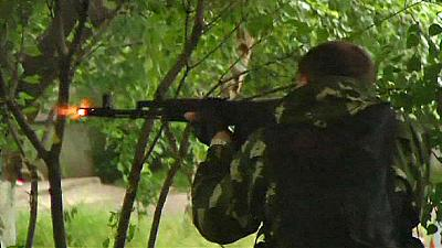 Ukrainian army enters Luhansk in heavy fighting